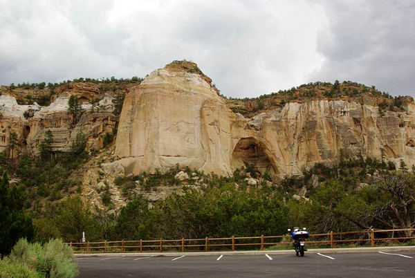 La Ventana Natural Arch near Highway 117, New Mexico.