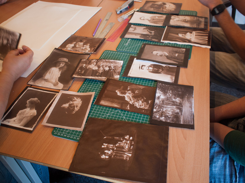 Here we have Rob's, Karen's and my prints ready for mounting.