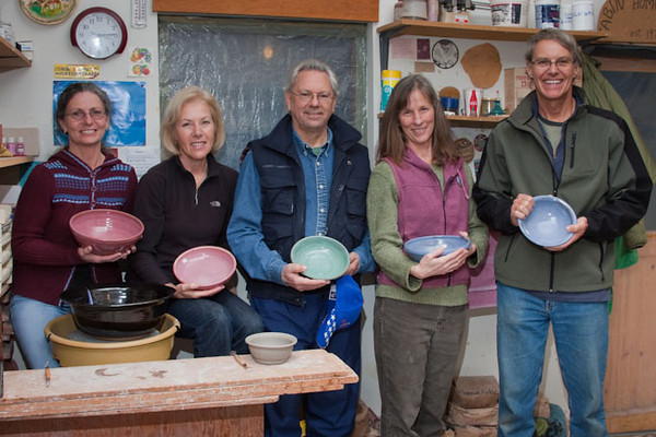 Potters for Empty Bowls 2010