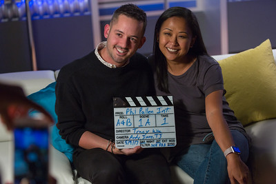 Behind the interview with Phil Pallen at Full Sail University.