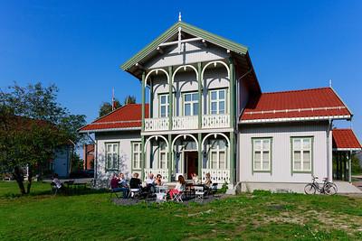 Bilder fra Arne Paus vernissage i Brogata 2, Lillestrøm
