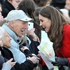 Prince William and Kate Middleton return to visit St Andrews University in Scotland