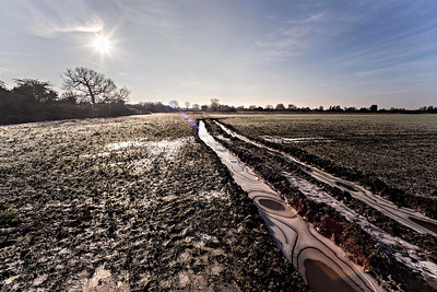 Ice In Tractor Ruts