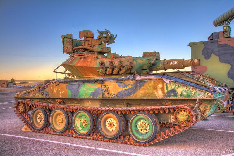 Tank @ Ft. Bliss in El Paso, TX