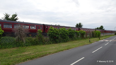 LMS Steam Jubilee 45699 Galatea Test Lane Southampton 10-08-2016 18-45-27
