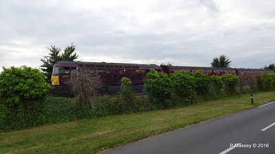 LMS Steam Jubilee 45699 Galatea Test Lane Southampton 10-08-2016 18-45-036