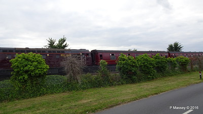 LMS Steam Jubilee 45699 Galatea Test Lane Southampton 10-08-2016 18-45-35