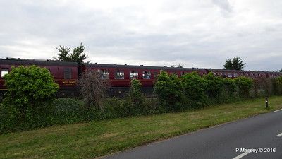 LMS Steam Jubilee 45699 Galatea Test Lane Southampton 10-08-2016 18-45-32