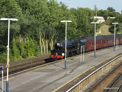Black Five 44932 Millbrook going to SOU PDM 30-07-2014 18-26-53