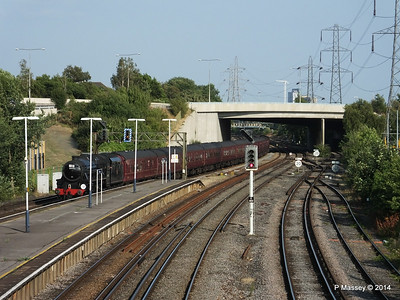 Black Five 44932 Millbrook going to SOU PDM 30-07-2014 18-26-56