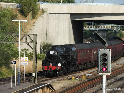 Black Five 44932 Millbrook going to SOU PDM 30-07-2014 18-27-02