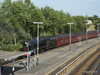 Black Five 44932 Millbrook going to SOU PDM 30-07-2014 18-26-51