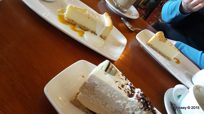 Bailey's Cheesecake Walhampton Arms Lymington 01-10-2015 15-07-15