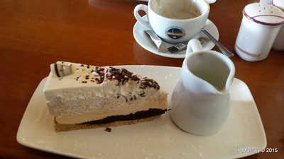 Bailey's Cheesecake Walhampton Arms Lymington 01-10-2015 15-06-50