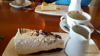 Bailey's Cheesecake Walhampton Arms Lymington 01-10-2015 15-07-05