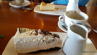 Bailey's Cheesecake Walhampton Arms Lymington 01-10-2015 15-07-05