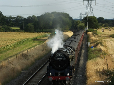 Oliver Cromwell 70013 Dorset Coast Express Lee PDM 06-08-2014 18-51-049