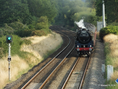 Oliver Cromwell 70013 Dorset Coast Express Lee PDM 06-08-2014 18-51-041