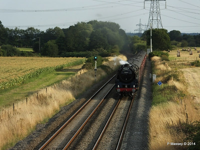 Oliver Cromwell 70013 Dorset Coast Express Lee PDM 06-08-2014 18-51-42