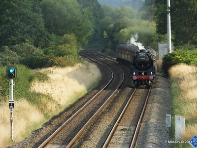 Oliver Cromwell 70013 Dorset Coast Express Lee PDM 06-08-2014 18-51-33