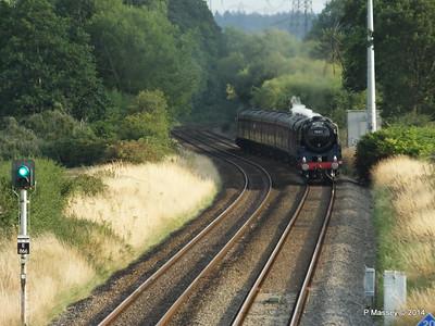 Oliver Cromwell 70013 Dorset Coast Express Lee PDM 06-08-2014 18-51-030