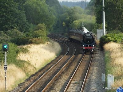 Oliver Cromwell 70013 Dorset Coast Express Lee PDM 06-08-2014 18-51-034
