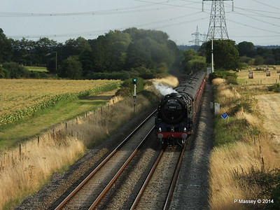 Oliver Cromwell 70013 Dorset Coast Express Lee PDM 06-08-2014 18-51-045