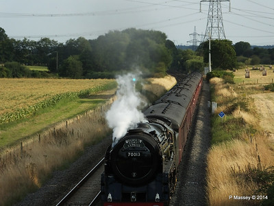 Oliver Cromwell 70013 Dorset Coast Express Lee PDM 06-08-2014 18-51-45