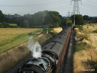 Oliver Cromwell 70013 Dorset Coast Express Lee PDM 06-08-2014 18-51-46