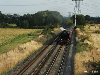 Oliver Cromwell 70013 Dorset Coast Express Lee PDM 06-08-2014 18-51-41