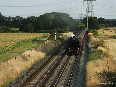 Oliver Cromwell 70013 Dorset Coast Express Lee PDM 06-08-2014 18-51-043