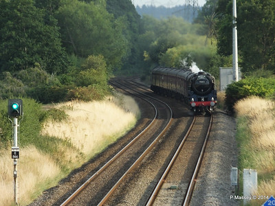 Oliver Cromwell 70013 Dorset Coast Express Lee PDM 06-08-2014 18-51-30