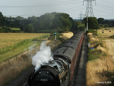 Oliver Cromwell 70013 Dorset Coast Express Lee PDM 06-08-2014 18-51-051