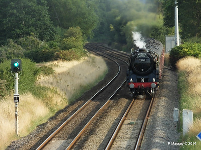 Oliver Cromwell 70013 Dorset Coast Express Lee PDM 06-08-2014 18-51-36