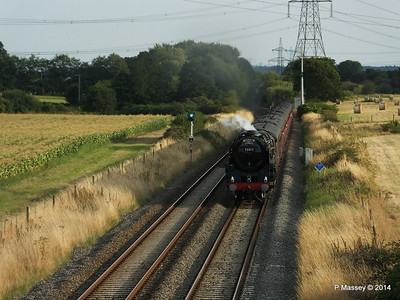 Oliver Cromwell 70013 Dorset Coast Express Lee PDM 06-08-2014 18-51-044