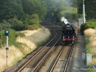 Oliver Cromwell 70013 Dorset Coast Express Lee PDM 06-08-2014 18-51-35