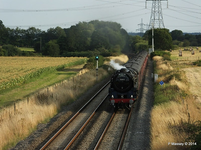 Oliver Cromwell 70013 Dorset Coast Express Lee PDM 06-08-2014 18-51-43