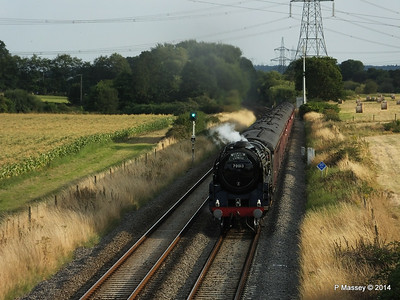 Oliver Cromwell 70013 Dorset Coast Express Lee PDM 06-08-2014 18-51-046