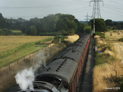 Oliver Cromwell 70013 Dorset Coast Express Lee PDM 06-08-2014 18-51-052