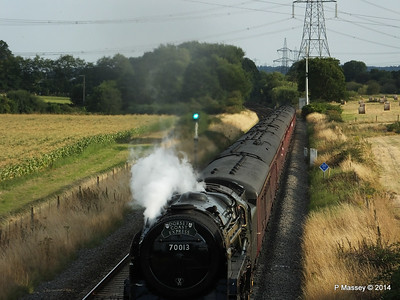 Oliver Cromwell 70013 Dorset Coast Express Lee PDM 06-08-2014 18-51-050