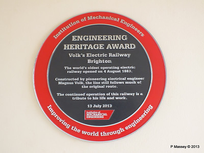 Volks Electric Railway Engineering Heritage Award 01-09-2013 17-45-19