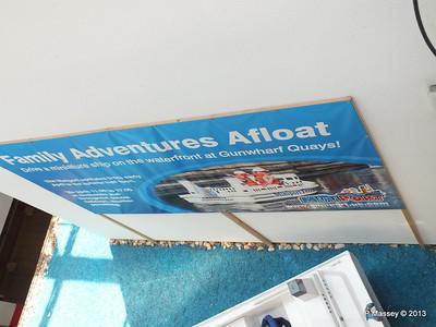 Minature Ship Advert Gunwharf Car Park PDM 06-07-2013 13-25-44