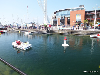 Minature Ships at Gunwharf Quays GROMMIT PDM 06-07-2013 13-47-12