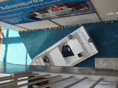 Minature Ship Advert Gunwharf Car Park PDM 06-07-2013 13-25-42