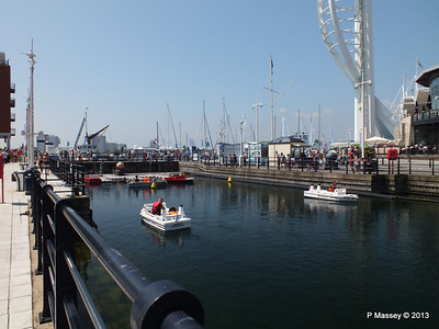 Minature Ships at Gunwharf Quays GROMMIT PDM 06-07-2013 13-47-20