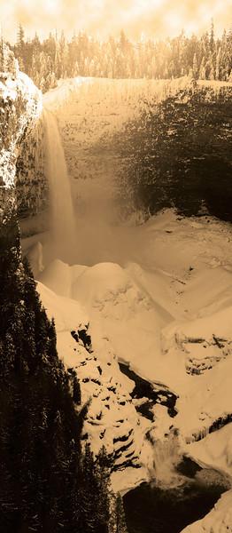 Helmcken Falls, Vertical View