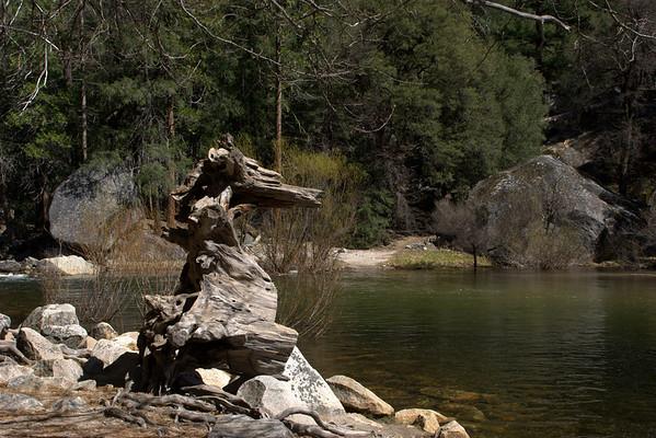 Dragon's head in Yosemite park.