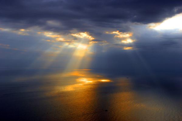 Sun burning...