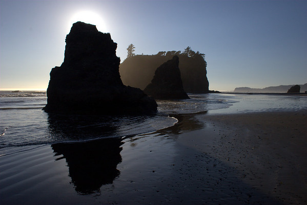 Ruby Beach: Shades and Highlightes
