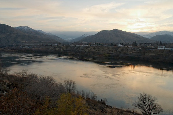 Wenatchee river, WA